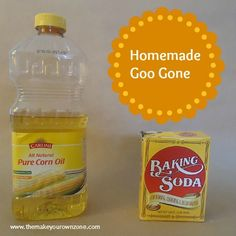 How to make homemade Goo Gone – It worked great for getting sticky labels off from my recycled jars!