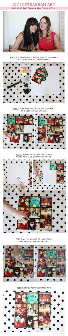 create a DIY photo collage project. In 5 easy steps, you too can make your own photo collage project.