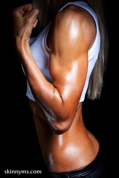 Find Your Inner Spartan Workout....her arms though!!!