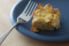 Kugel (Baked Noodle Pudding) Recipe