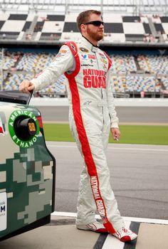 Dale Earnhardt Jr. at Daytona International Speedway