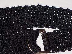 Ravelry: Easy as ABC D-ring Belt pattern by Caryn Southwick