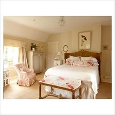 rose, country cottages, countri bedroom, countri cottag, country bedrooms