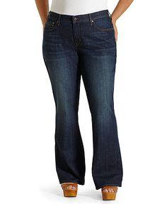 Levi's Plus Size Jeans, 525 Perfect Waist Bootcut Oceana Wash - Plus Size Jeans - Plus Sizes - Macy's