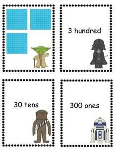 Place Value Star Wars Game