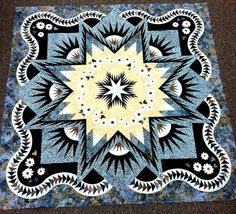 Glacier Star, Quiltworx.com, Made by Teri Tope.