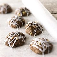 Italian Choco-Spice Cookies (I think these are supposed to have orange zest in them, too)