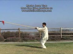 EPIC Chen Tai Chi spear form demonstrated by Master Jesse Tsao.