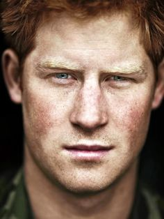 HRH Prince Harry of Wales, Captain and combat veteran, Blues & Royals.