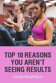 Are you not seeing the results you wish you were? Check out these reasons to see why!