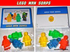 Lego Party Goodie bag ideas #LegoDuploParty