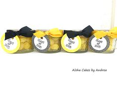 Class of 2013 Graduation Party Favors, Teacher Appreciation Gift, Candy Mason Jar, Jars for Favors, Set of 4, Black and Gold, School Colors