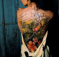 #backcanvas #ink