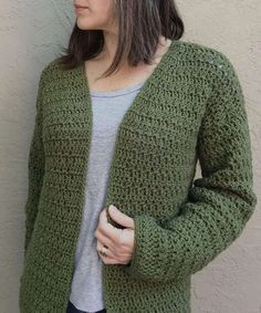 Sera Cardigan a Free Crochet Cardigan Pattern - Christa Co Design
