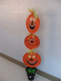 Dollar Store Crafts » Blog Archive » Make a Pumpkin Totem Pole