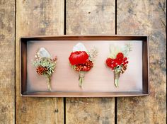 Rich red fall wedding idea | Photo by Jake Anderson | Read more - http://www.100layercake.com/blog/?p=79976