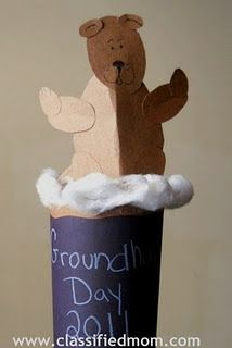 Groundhog Day Puppet