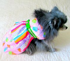 Small Dog's Dress with Ruffles Pink by BloomingtailsDogDuds, $23.95