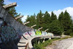 Abandoned Olympic Parks - if you know me you know that I have secret passion for urban exploring photography. I believe that having the ability to go to the faces would be an amazing experience