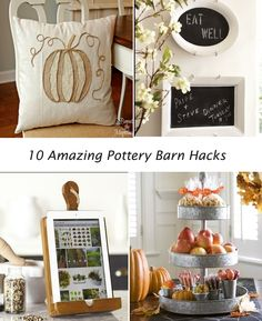 Ten Pottery Barn Hacks you have to see!