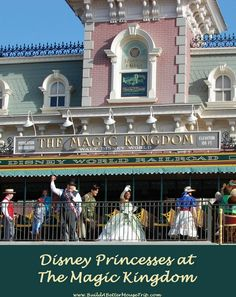 Where to see the Disney Princesses at the Magic Kingdom - See: http://www.buildabettermousetrip.com/princesses-at-disney-worlds-magic-kingdom  #Disneyworld #WDW #disneyprincesses #disneyprincess #magickingdom