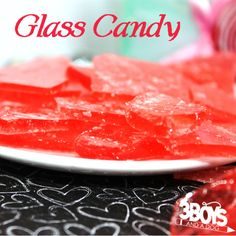 Glass Candy square Old Fashioned, Stained Glass Candy Recipe