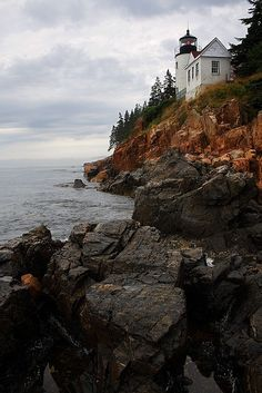 Bass Harbor Head Lighthouse  I want to go back here!