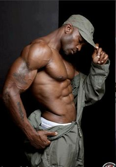 Hot Sexy Men, Gods.  Sexy men   eye candy. #sexy #handsome #men bare. cute dude!! love black male
