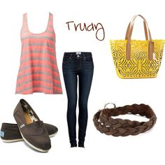 Outfit with TOMS