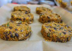 Spicy Butternut Squash, Quinoa & Black Bean Burger