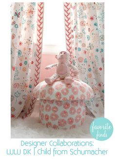Lulu DK fabric collection for children