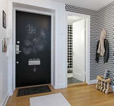 Triangle hallway - via Coco Lapine Design