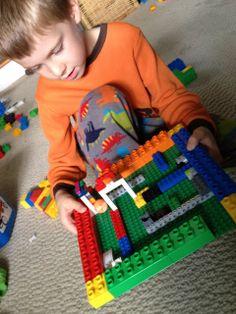 doolhof van lego bouwen