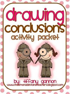Drawing Conclusions Activity Packet