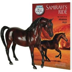 New from the Breyer Horse Collection, the story of Samirah, a spirited Arabian filly, lovingly raised by her young owner Jasper on a struggling dude ranch near the Green River in Utah...Comes with a Classics bay model of the Arabian filly Samirah.