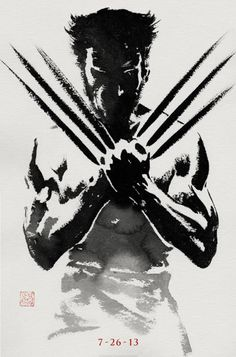 The Wolverine Teaser Poster with Hugh Jackman and excerpts from the live chat