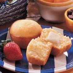 Sunshine Muffins - Yellow Cake Mix and Corn Bread/Muffin Mix Mixed!