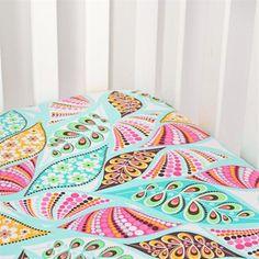 Modern Paisley Crib Sheet