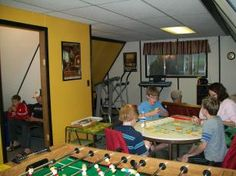 Hot Springs KOA - visit our Recreation Room where you can watch TV, play video games on the Playstation 3, put together a puzzle, have a foosball or air hockey game, or just sit and read a good book from our book exchange.  If you are looking to burn some energy try out the exercise equipment in the Recreation Room.