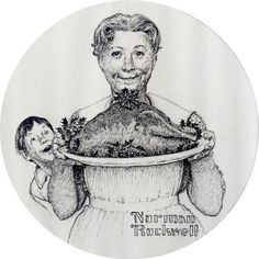 mother-holding-a-plate-with-turkey.jpg 600×600 pixels