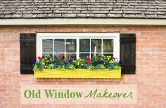 Curb appeal project! Window box makeover + video tutorial @Stacy Stone Risenmay #bhgsummer