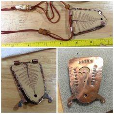Fern tab setting -  June CoM necklace by Jenny Davies-Reazor