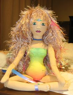 """another Doll created from an """"Embody the Light"""" Doll Kit"""