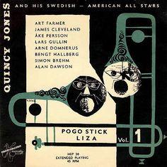 Sweden 1950s - The EP albums  Design: Nisse Skoog EP 1954