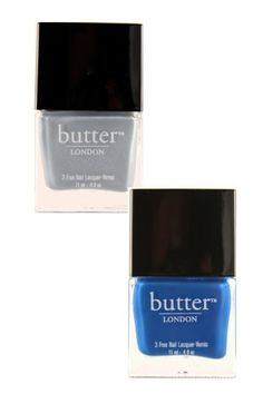If you want to add a subtle flash of blue to your outfit, these two gorgeous shades from Butter are ideal. We love pearly shade Lady Muck for fingernails, whilst bright blue Blagger is ideal for showing off on toes. £12 each from ThePowderRooms.com