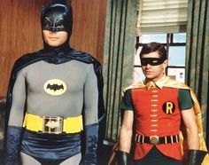The original and best Batman and Robin.