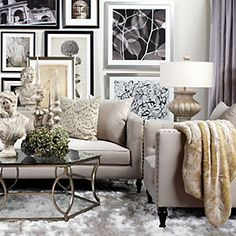decor, coffee tables, idea, living rooms, galleri, hous, live room, chinchilla throw, art walls
