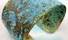 Brass patina - ammonia and salt