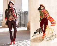 Afternoon cats. (by Nancy Zhang) http://lookbook.nu/look/3360503-Afternoon-cats