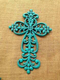 Hey, I found this really awesome Etsy listing at http://www.etsy.com/listing/127013776/teal-distressed-scroll-cast-iron-wall